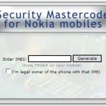 Desbloquear Nokia – Recuperar Código de Seguridad