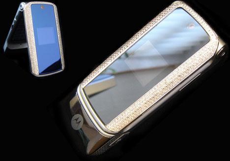 Platinum Motorola KRZR