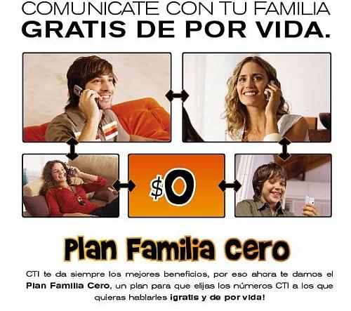 plan CTI familia 0