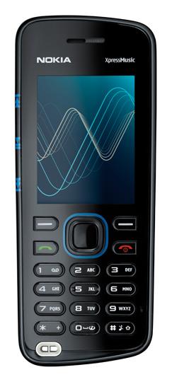 Nokia 5220 frente