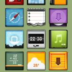 Douce: un tema para el iphone muy retro
