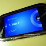 Samsung M7600, filtrado