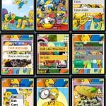 Temas para Sony Ericsson w300: Los Simpsons