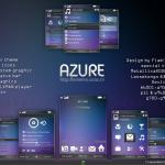 Tema para celulares Sony Ericsson: Azure