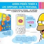 Los Simpsons llegan a Personal
