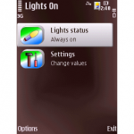 Lights On: Usar el celular como linterna