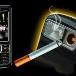 Searight SB6309, un móvil con encendedor para cigarrillos