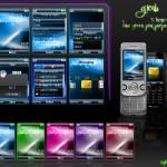 Temas Sony Ericsson: Glow Themes