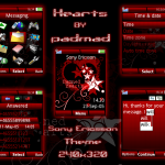 Descargar Temas Sony Ericsson: Heart