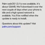 Nueva Actualización para Palm webOS