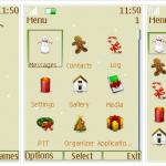 Tema Nokia para Navidad: Merry Christmas
