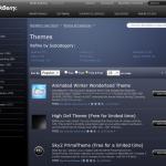 Ya se puede descargar temas para BlackBerry desde la App World