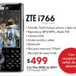 ZTE i766: otro celular con TV en Claro
