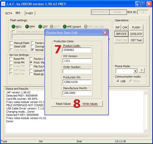 nokia bb5 code usb sender exe download