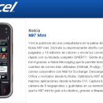 Nokia N97 Mini en Telcel