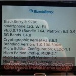 BlackBerry Bold 9780 con blackberry OS 6.0