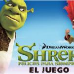 El juego de la pelicula Shrek 4 Felices para Siempre para el celular