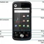 """Motorola Quench XT5, con pantalla tactil de 3.2"""""""