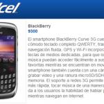 Blackberry Curve 9300 en Telcel