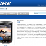 Blackberry Torch 9800 en Telcel