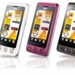 Aplicaciones y Juegos LG KP570q y LG Cookie