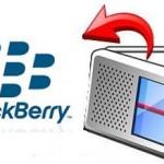 Aplicaciones para escuchar radio desde tu BlackBerry