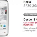 Nokia 5230 en Claro: Precios y planes
