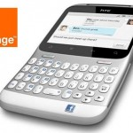HTC ChaCha con tecla facebook, gratis con orange