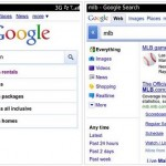 Nuevo Google Search para Blackberry OS 6