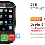 ZTE N270 con Claro: Precio y caracteristicas