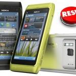 Resetear Nokia N8