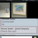 App ChatPics para Blackberry: chatear y compartir fotos
