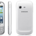 Samsung Galaxy Chat con Android ICS y teclado QWERTY