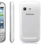 Samsung Galaxy Chat con Android ICS y teclado QWERTY