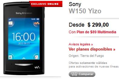 compra-tu-sony-ericsson-w150-yizo-en-claro-tienda-virtual-claro-tienda-virtual