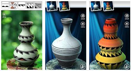 Crear vasijas en Android