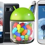 Instalar Android 4.1 Jelly Bean en Samsung Galaxy S2 y Galaxy S3