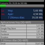 Controlar consumo de datos del internet 3G en Android