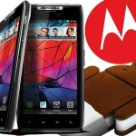 Actualizacion a Android 4.0 para los  Motorola RAZR de Argentina