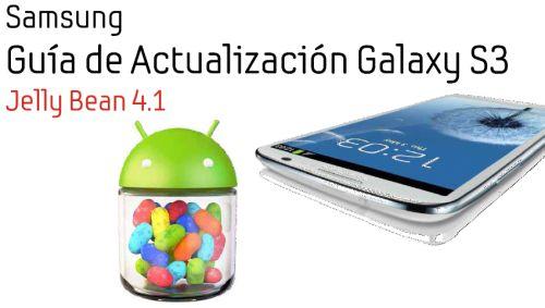 actualizar Claro Samsung S3 a Jelly Bean