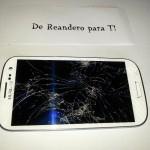 Reemplazar pantalla rota Samsung galaxy S3