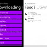 BitTorrent Remote para Nokia Lumia