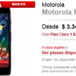 Motorola Razr HD con Claro Argentina