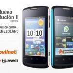 Huawei Evolución II (CM980) con Movilnet
