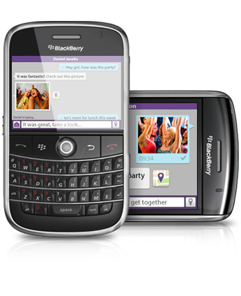 nuevo viver para blackberry