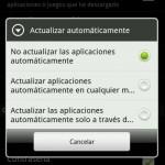 Desactivar actualizaciones de apps en Google Play