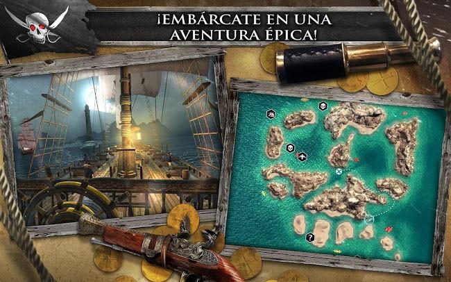 Juego Assassin´s Creed: Pirates para android e iOS