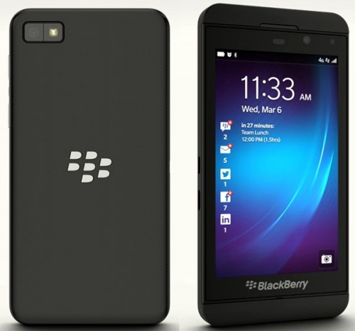 blackberry z10 con movilnet