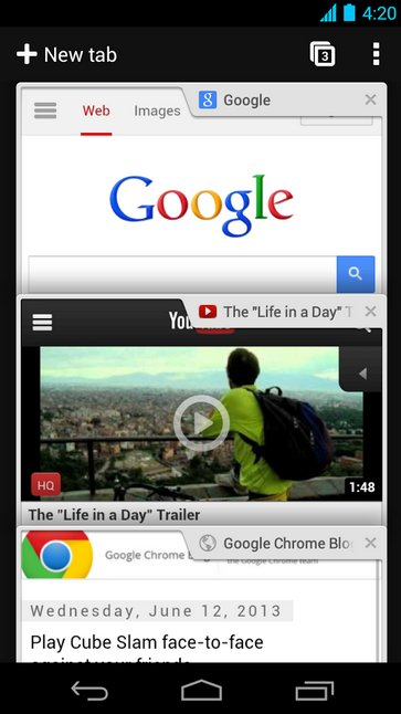Chrome Version 32 para Android e iOS