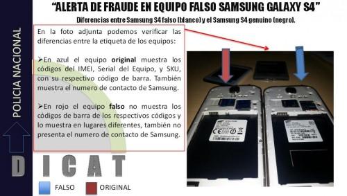 Diferencias Samsung S4 Trucho